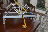 Réalisation du jour pont en construction