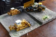diorama de terrassement finie