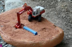 Mise en scène diorama assainissement