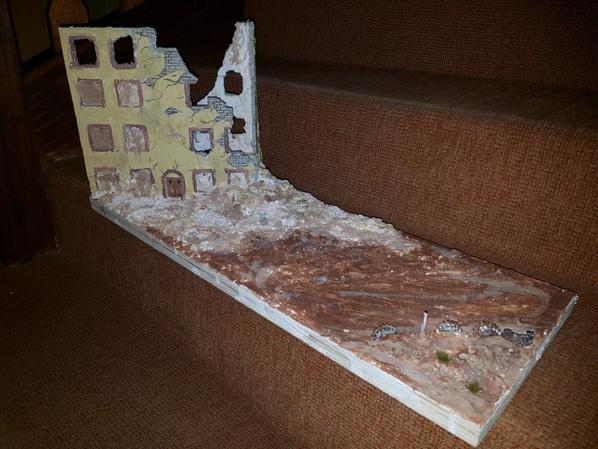 Réalisation d'une maquette de démolition fais par un ami merci à lui