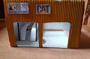 réalisation d'un garage pour réparation engins de chantier