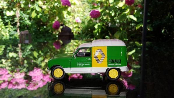 La belle 4l Renault motoculture Nouveauté