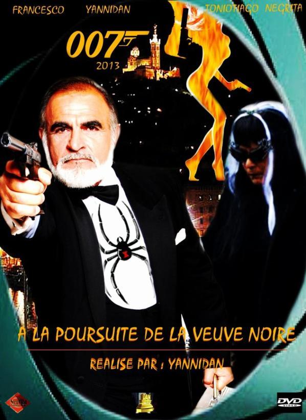 """news film yannidan 2013 OO7 """"a la poursuite de la veuve noire """""""