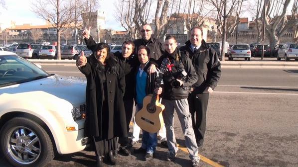 tournage film yannidan 2013 OO7 a la poursuite d la veuve noire