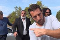 """yannidan tournage film """"BOND"""" a la poursuite de la veuve noire 2013"""