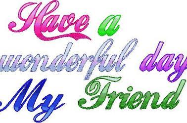 Très bonne journée à tous pour tous le mois! Lol! :)