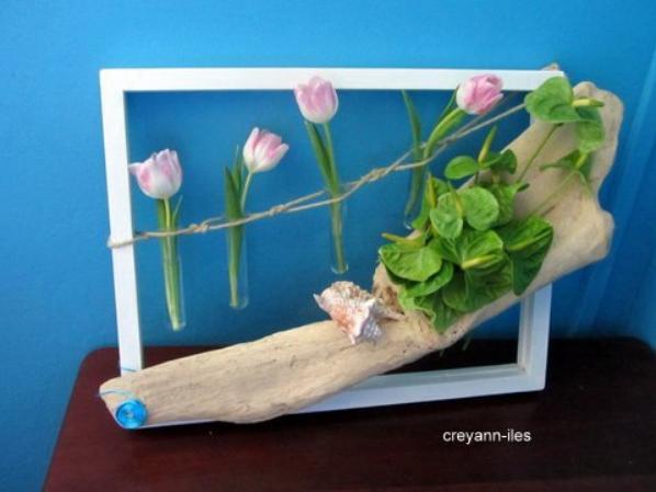 """Ma participation au concours du magazine atelier floral""""Thème à vos pinceaux"""""""
