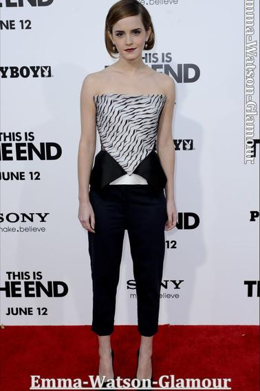 04/06/13-> Emma a la premiére de This is The End