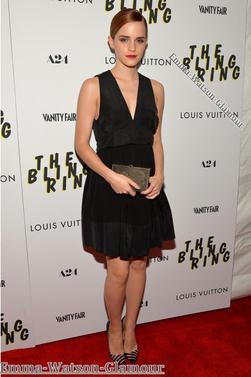 11.06.13-> Emma s'est rendu à l'avant première de The Bling Ring.
