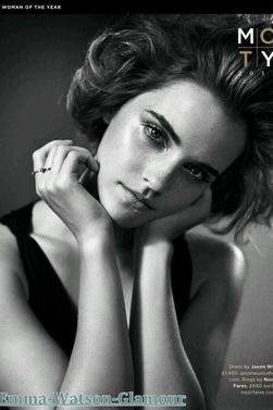 Photo shoot d'Emma pour le Magasine GQ + Film's d'Emma.