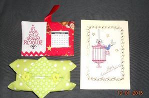Ronde des cartes d'anniversaire : Janvier