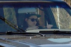 Nouvelles photos de Kristen arrivant à la salle de gym à Los Angeles (10 février 2014)