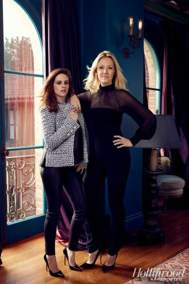 Nouveau photoshoot de Kristen Stewart & Tara Swennen pour le magazine The Hollywood Reporter