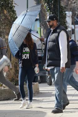 """Nouvelles photos HQ de Kristen Stewart sur le tournage de """" Still Alice """" à New York ( 11 Mars 2014 )"""