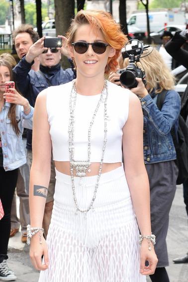 Photos Kristen Stewart au défilé haute couture Chanel automne-hiver 2014