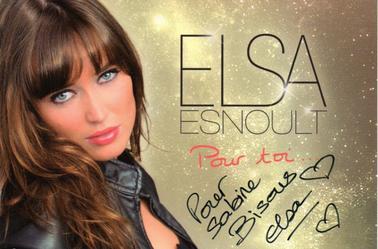 Dédicace d'Elsa Esnoult