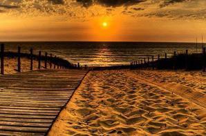 Coucher ou lever de soleil :-)