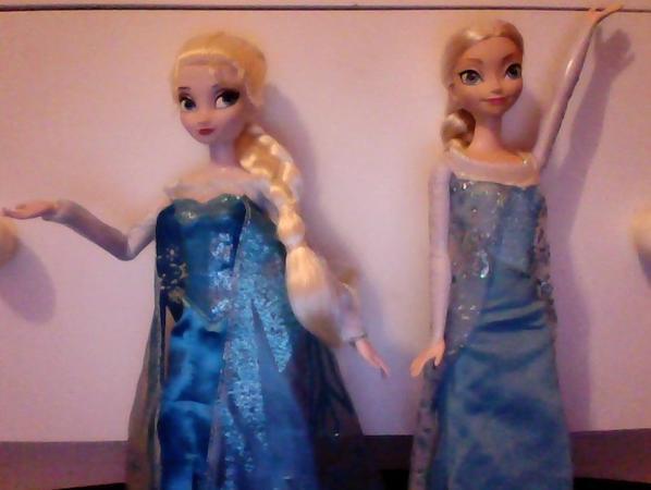 Comparaison de mes Elsa + info