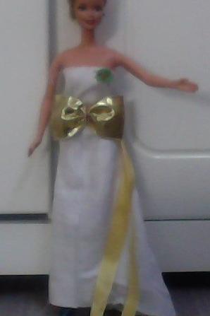 Robe de Noël pour ma Barbie Space Camp + Info