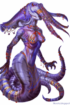 Flagelleur mental/illithids/mindflayer