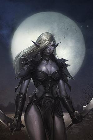 elfe noir