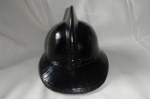 casque pompier belge 1960