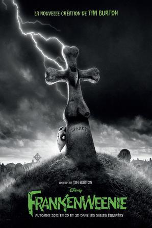 Les affiches des films de Tim Burton