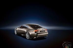 Lexus LF-CC concept: première mondiale à Paris