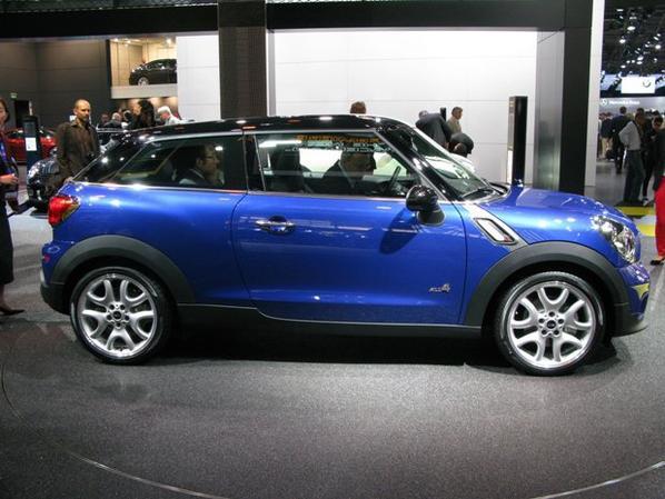 Salon de l'auto 2012 : Première sortie pour la Mini Paceman