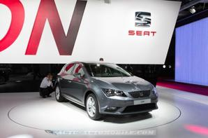 Nouvelle Seat Leon : technologies Golf on board