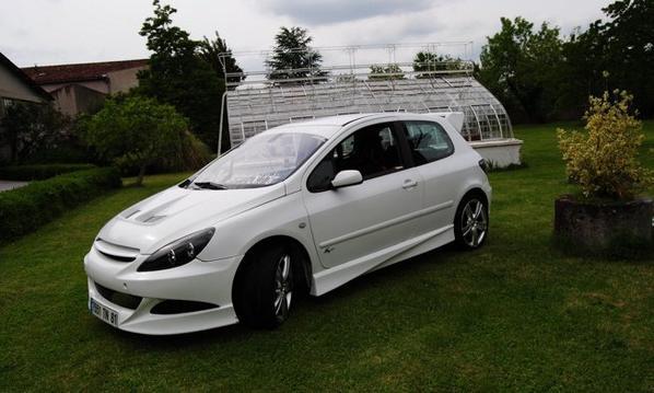Tuner de la Semaine : Tian et sa Peugeot 307 Règnent sur la Ville Rose !