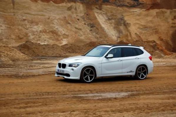 Essai BMW X1 18d sDrive AC Schnitzer : « Anklebreaker