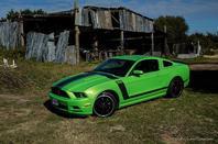 Essai Caradisiac Mustang Boss 302