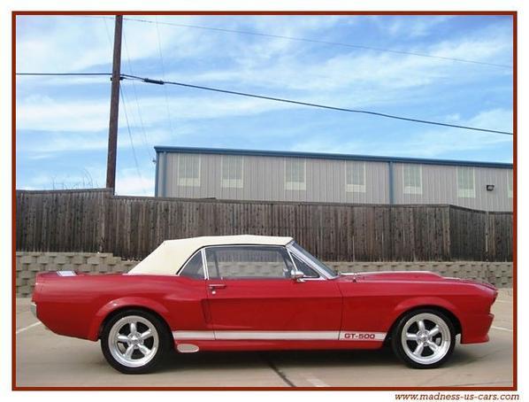 Eleanor Mustang Cabriolet 1967 GT 500