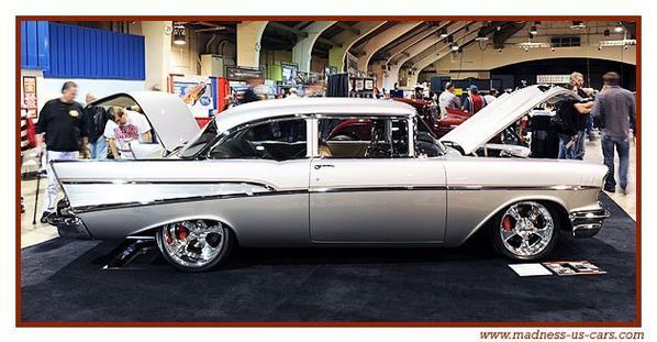 57 Sleeper, une Chevrolet Bel Air 1957 démentielle