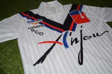 Maillot Domicile 1991-1992 de Laurent Viaud