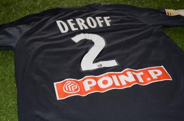 Maillot Coupe de la Ligue 2011-2012 d'Yves Deroff