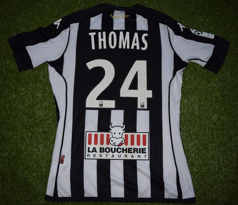 "Maillot Domicile Collector ""Raymond KOPA"" 2016-2017 de Romain Thomas"