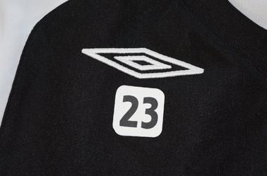 Maillot d'échauffement 2011-2012 de Hamady Tamboura N°23 (modèle 2010-2011)