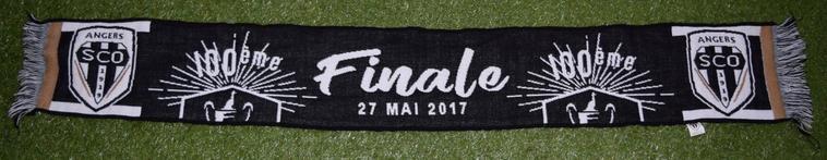 Echarpe Coupe de France Finale SCO-PSG, 27 Mai 2017