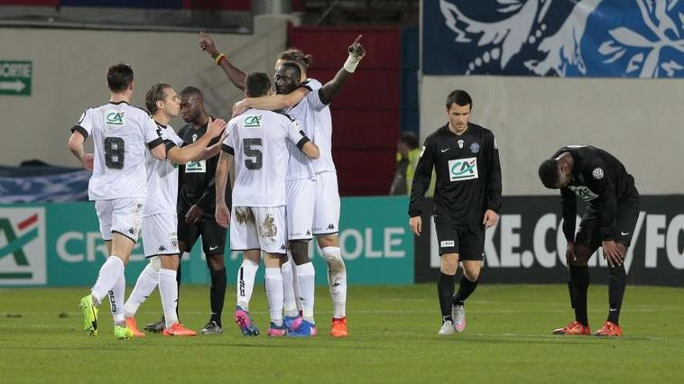 Maillot Coupe de France 2016-2017 de Karl Toko Ekambi