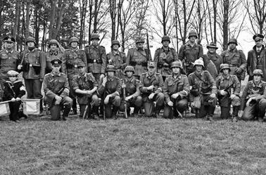 reenactment vendin le vieil france april 2014