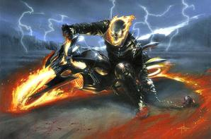 Iron-man VS Ghost Rider