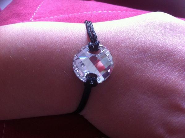 Bracelet twist Swarovski