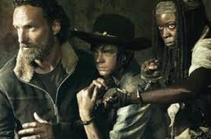 Rick / Daryl / Carl / Michonne