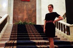 Aliya Mustafina a reçu son certificat des universiades