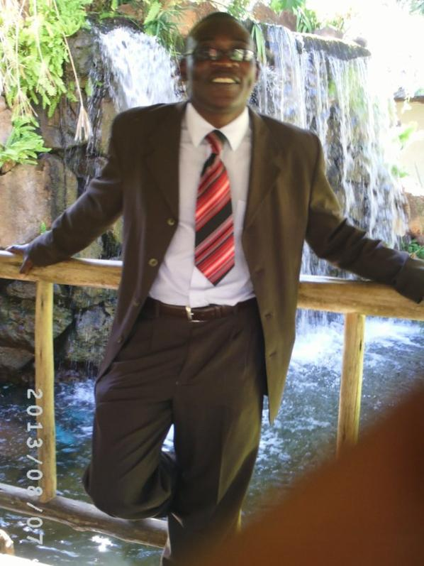 Caven Masuku at Victoria Fall on 13 August 2013