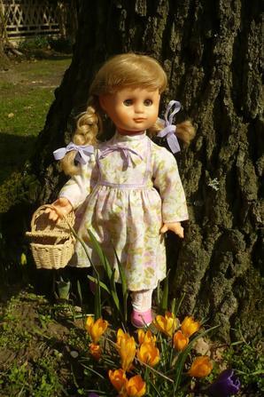 Une jolie robe fleurie...