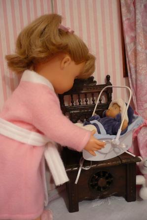 Emilie aussi est malade...