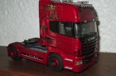 SCANIA R 500 topline  rouge rubis limited edition